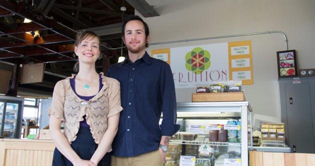 Fruition's Jessie Doyle and Seth Graham. - ALYSON HARDWICK
