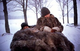 Fur nature. Mon Oncle Antoine shows the world how true Canadians live in the summer.