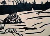 Gerald Ferguson's landscapes