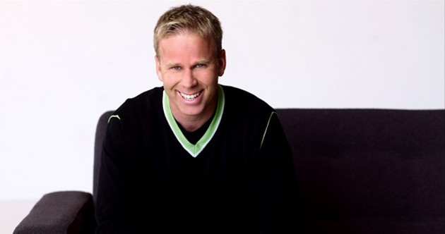 Gerry Dee is ready to make you laugh.