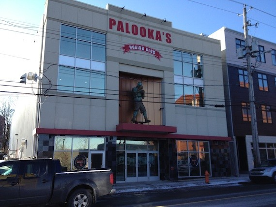 Global TV will move into the old Palooka's space.