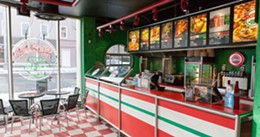 SCOTT BLACKBURN - Gold winner, Sicilian Pizza Donairs & Subs, Pizza Corner.