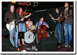 Got class? Band members Long, Dowling, Burns, Tesolin, Cox and Whiston. photo David Cieplinski