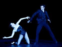 Grace-Anne Powers and Marcio Vinius from La La La Human Steps - EDOUARD LOCK