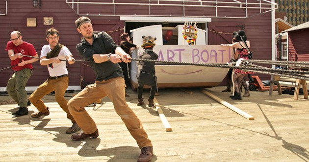 Halifax Art Boat - TYLER JOHN PHOTOGRAPHY