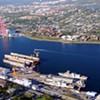 Halifax Shipyard a glass half full