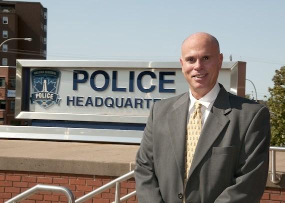 Halifax's new police chief, Jean-Michel Blais.