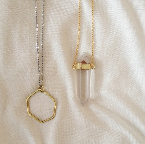 Handmade jewellery from Ment and Tribes+Society