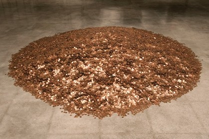 Have a penny, give a penny. Need a penny? Take a penny. (Note: please do not take or add any pennies) - STEVE FARMER