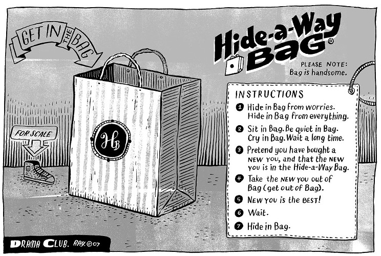 Hide-a-way Bag