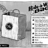 Hide-a-way Bag