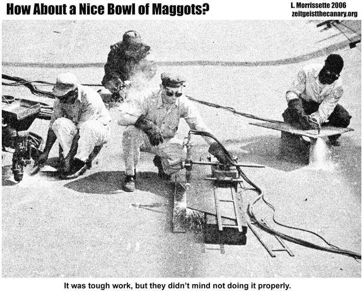 How About a Nice Bowl of Maggots