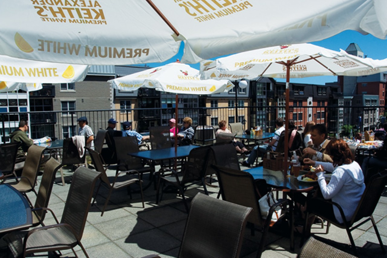 how to find a patio in the sky restaurants bars
