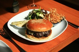 If this Fid Burger isn't on the ever-changing menu when you go, just pick something else. It's hard to go wrong with Halifax's Best Lunch Specials.