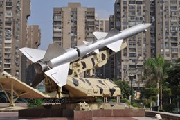 Image: Dick Averns, October 1973 War Panorama (Cairo), 2009 (photo courtesy of the artist).