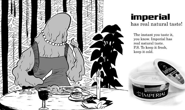 Imperial has real natural taste!