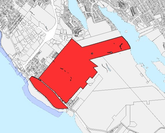 Imperial Oil property in Dartmouth