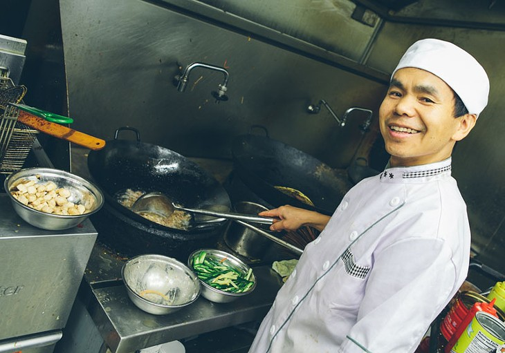 Inside Jincheng Chinese Cuisine