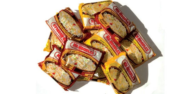 Instant noodles are instant satisfaction, baby.
