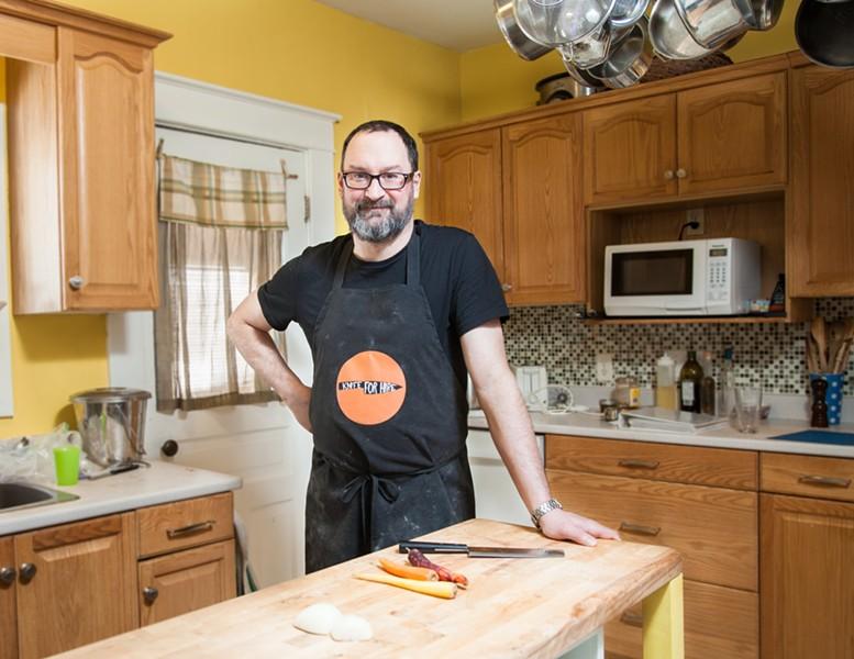 """It's not rocket science, it's just cooking,"" chef Paul Routhier - JORDAN BLACKBURN"