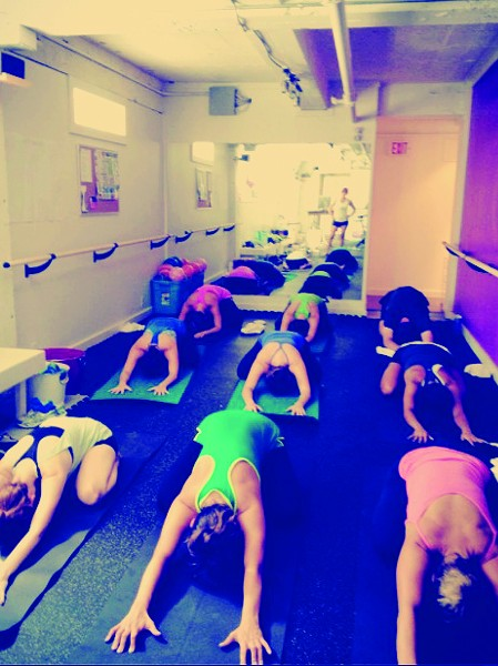 Jam-packed yoga at Cyclone