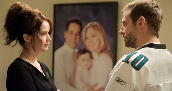 Jennifer Lawrence and Bradley (not Brad) Cooper rom-com it up.