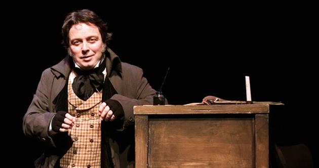 Jeremy Webb's A Christmas Carol closes after nearly 500 performances. - JEREMY WEBB