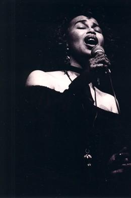 CLAS LARSSON - Jeri Brown in 1994.