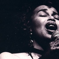 Jeri Brown shot by Clas Larsson at Jazz Fest in '94.