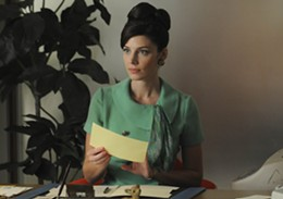 Jessica Paré as Megan on Mad Men