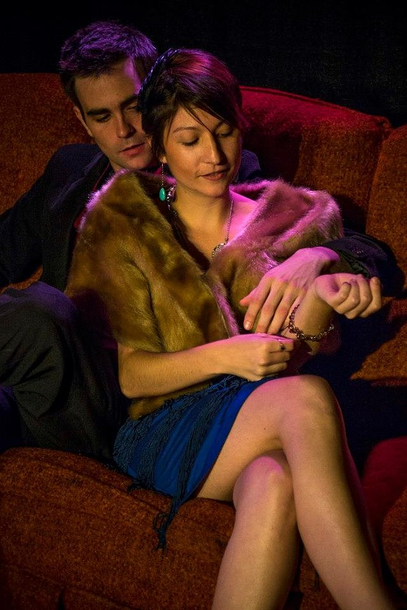 Jimmy Jazz and Genevieve Jones get cosy in Criminal Negligee - MJ PHOTOGRAPHICS