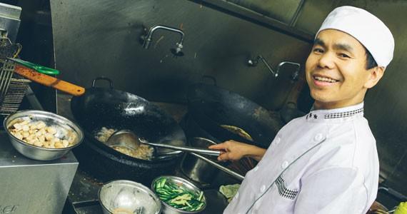 Jincheng's Daigen Zou knows spicy - PHOTO BY SCOTT BLACKBURN