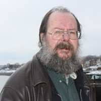 John Roswell lives in Digby, where he founded Digby Clare Mental Health Volunteers. Roswell has experienced several psychotic episodes in his life and is always pushing for open and frank discussion about mental illness.