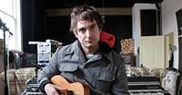 Jon McKiel at Confidence Lodge, the Lunenburg studio where he recorded his new EP.