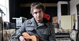 SCOTT BLACKBURN - Jon McKiel at Confidence Lodge, the Lunenburg studio where he recorded his new EP.