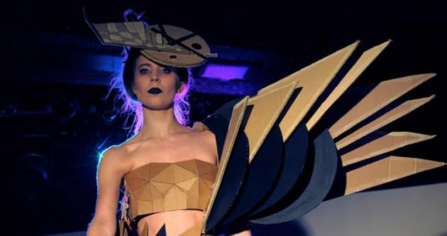 Joyce Jiu fashions push boundaries. - ALEX CHISHOLM