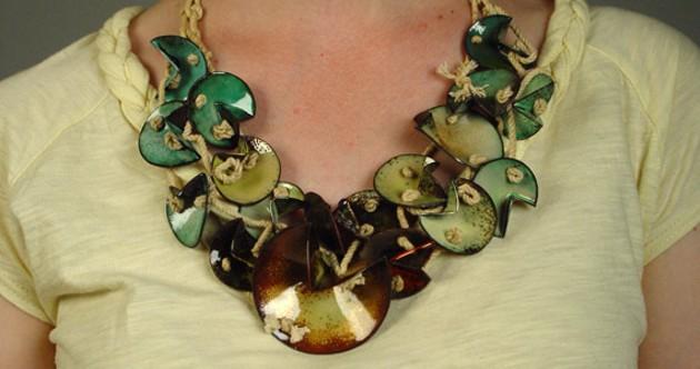 Kara Bargmann's work gives us necklace envy.