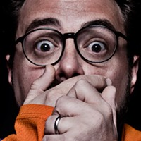Kevin Smith can't hold back for long.