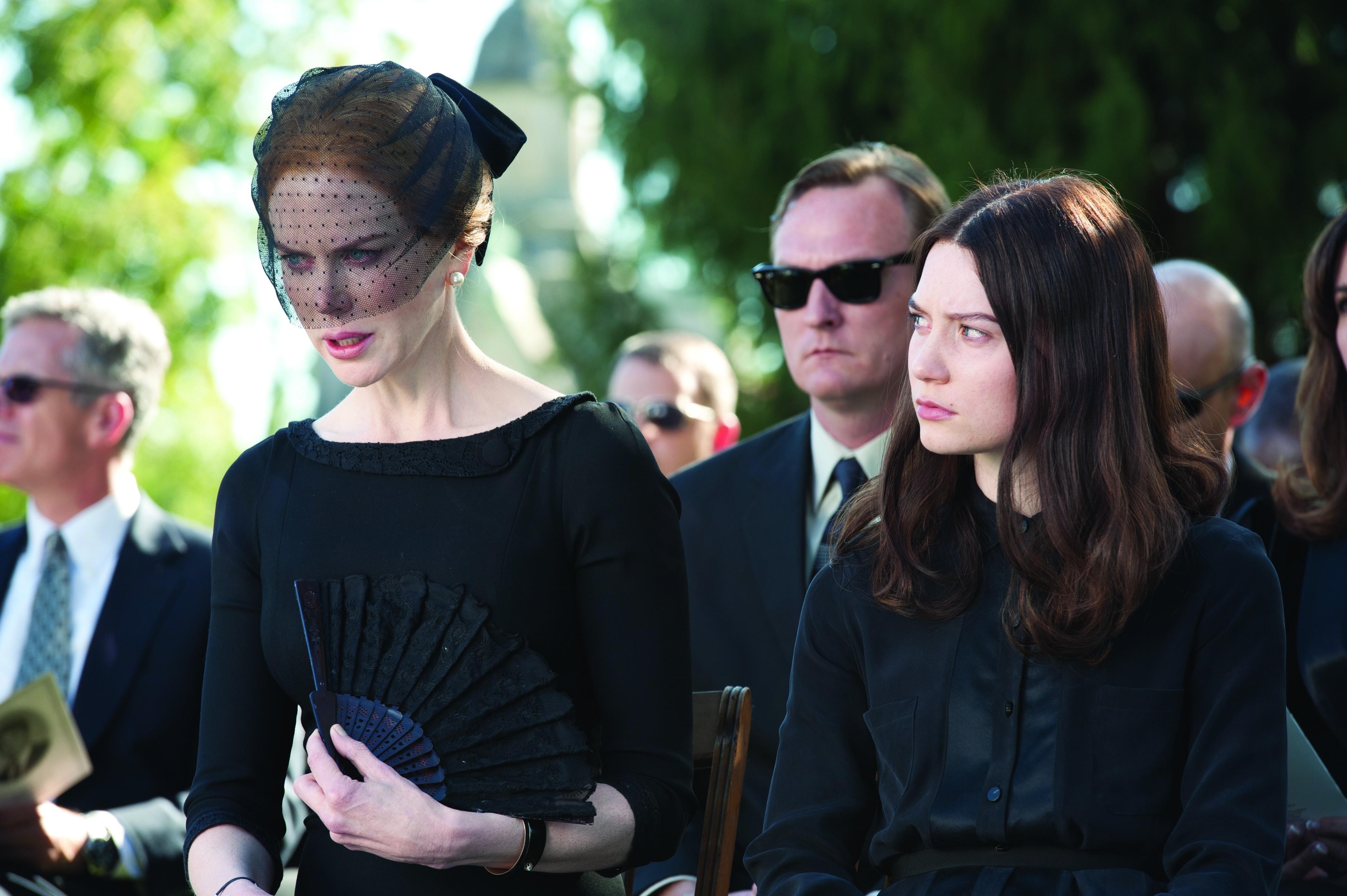 """Kidman puts the """"fun"""" in funeral."""