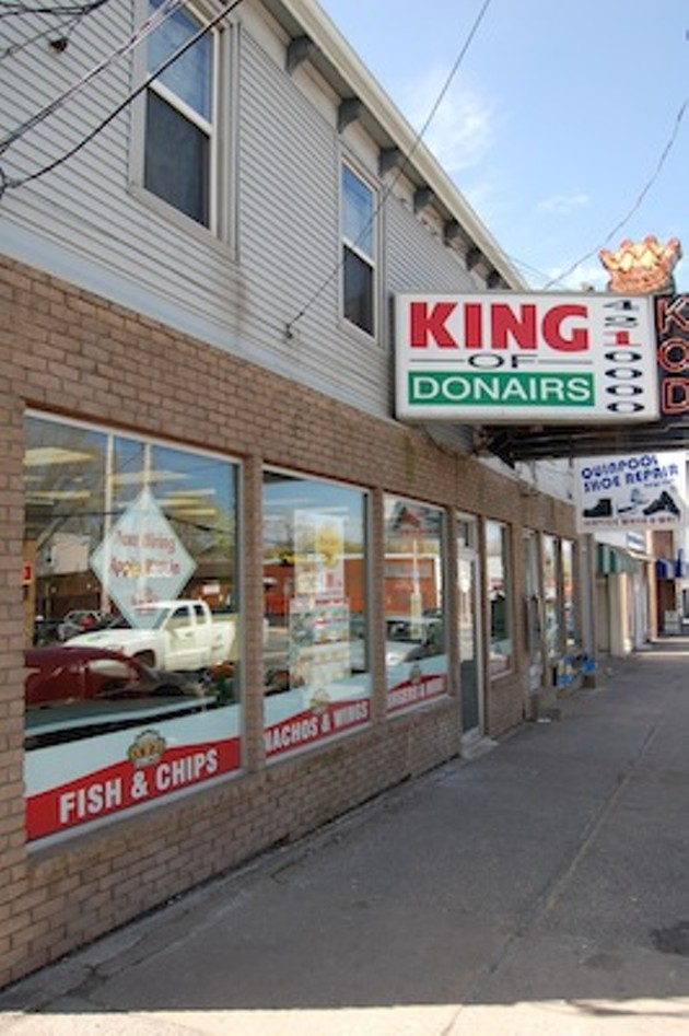King of Donair invented Halifax's iconic meat goodie in 1972.