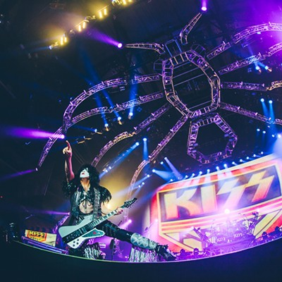Kiss came to Halifax, you know