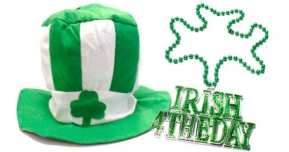 Kiss me, I'm Irish.