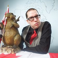 Kyle Allatt and Tupper the Beaver dish out history without the BS