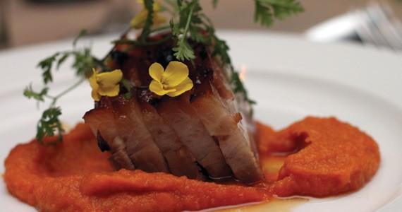 Last year's feast featured pork belly prepared by Fid Resto's Dennis Johnston