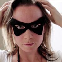 Laura Burke in her film Superhero.