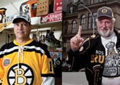 Who is Halifax's biggest Boston Bruins fan?