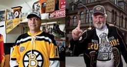 JULÉ MALET-VEALE - left: Darren Fisher, right: David Hendsbee
