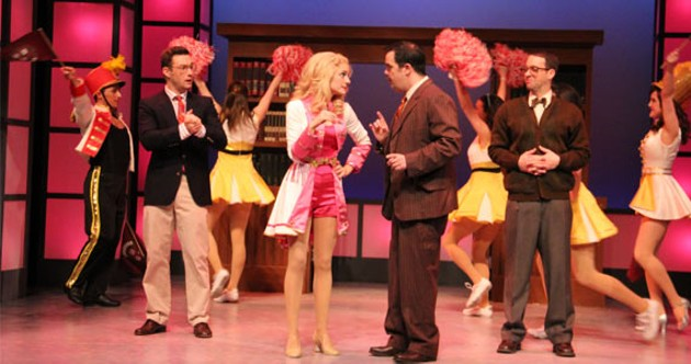 Legally Blonde's clever numbers will burrow happily into your ear.