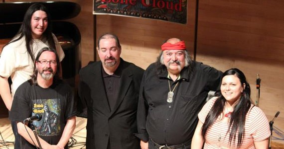 Lone Cloud plays an eclectic mix Friday at the Museum of Natural History. - ALAN SYLIBOY