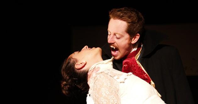 Love hurts for SBTS' David Patrick Flemming and Mara Zigler.